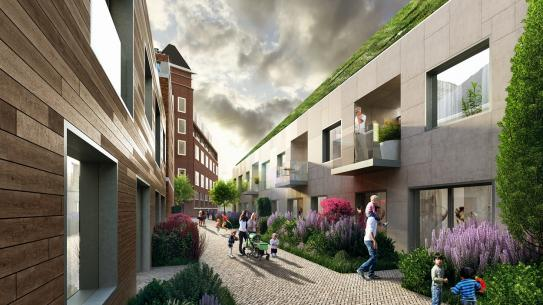 Deken van Somerenstraat - Artist Impression